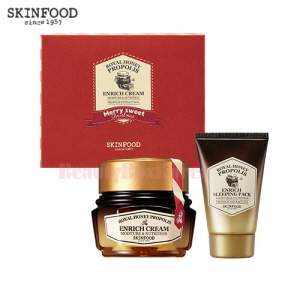 SKINFOOD Royal Honeypropolis Enrich Cream Set 2items [Holiday Edition]